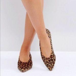 ASOS Leopard Print Lottie Ballet Flat